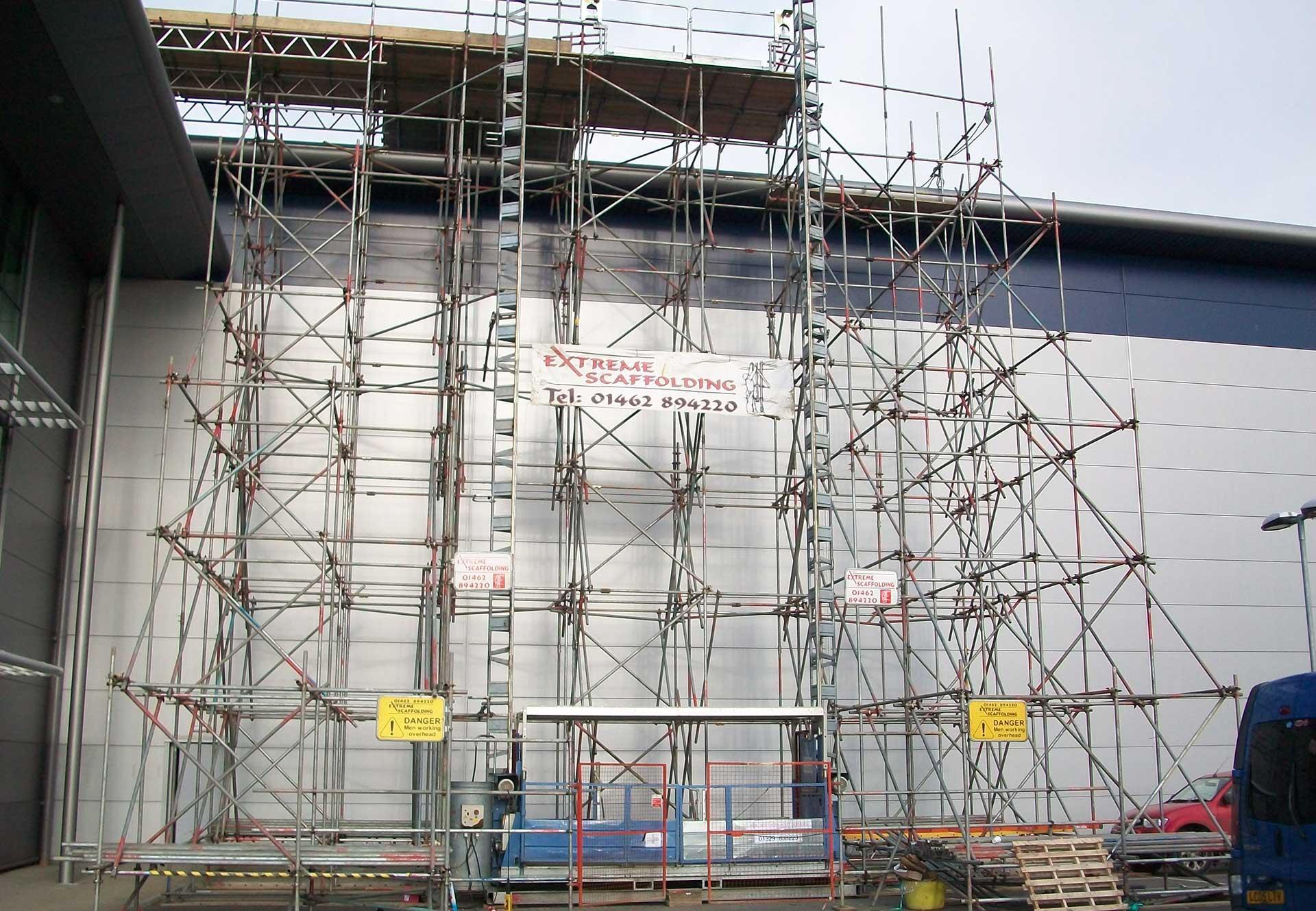 Specialist scaffolding, Essex